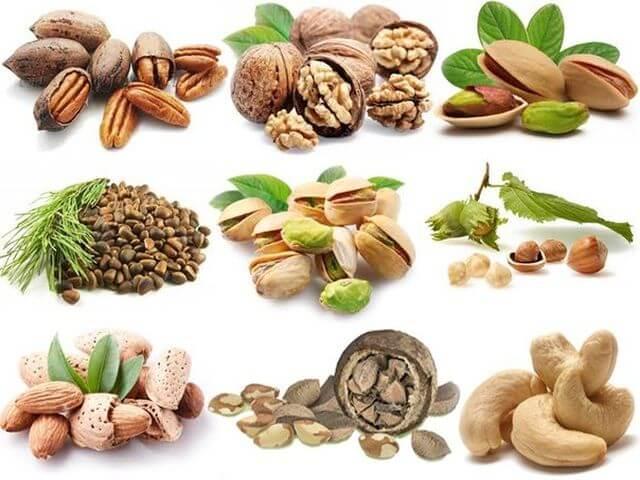 Орехи и потенция мужчин