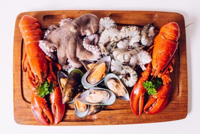 Морские блюда