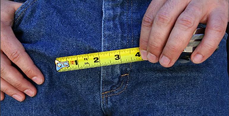 Как правильно мерить длину члена