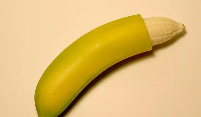 банан приоткрытый